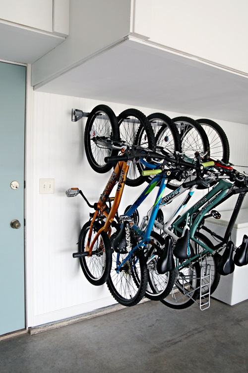 30+ BEST Garage Organization and Storage Ideas, Garage Bike Organization