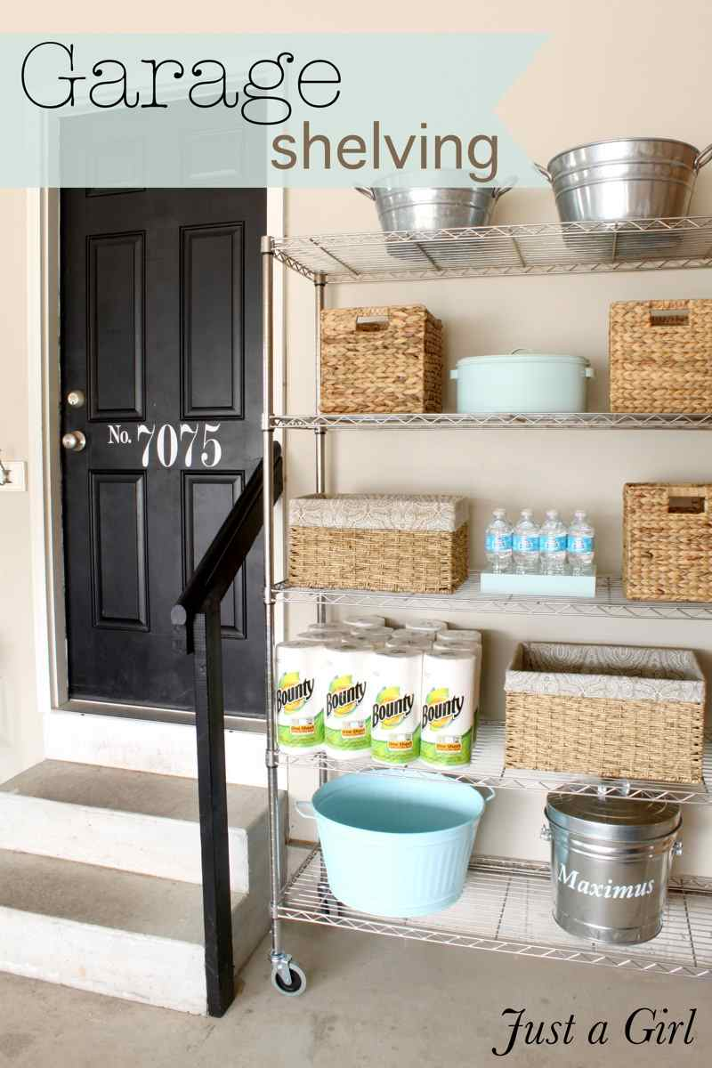 30+ BEST Garage Organization and Storage Ideas, Organized Garage Shelves