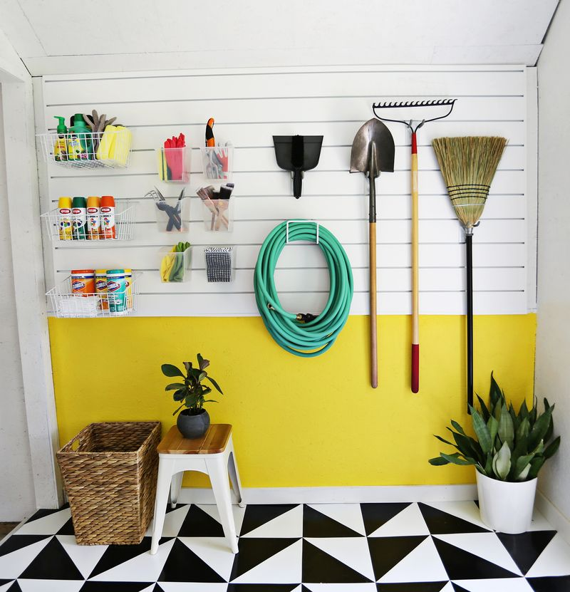 30+ BEST Garage Organization and Storage Ideas, Hang Smaller Things