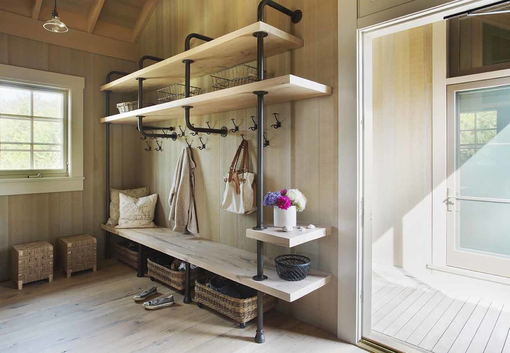 Storage Spaces, Beach Barn House in Massachusetts