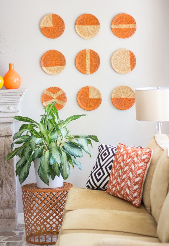 DIY Basket Wall Art, Classy DIY Wall Decor Ideas For Your Home - Wall Arts