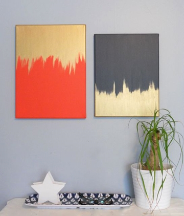 DIY Modern Wall Art, Classy DIY Wall Decor Ideas For Your Home - Wall Arts