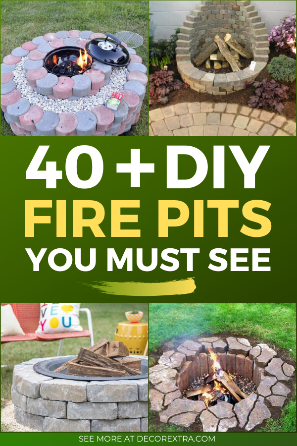 40 Best Diy Fire Pit Ideas And Designs For 2020